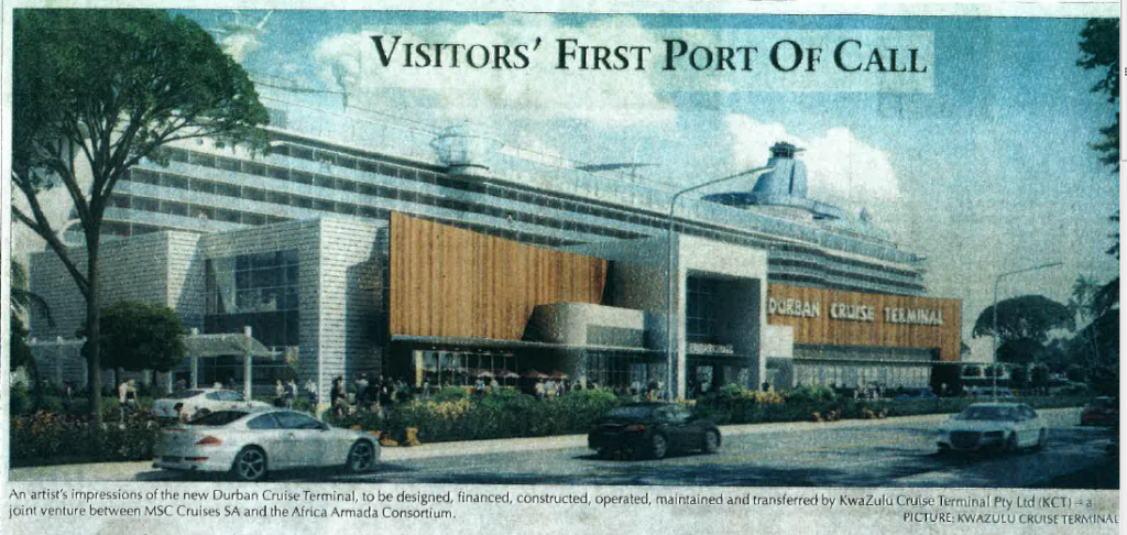 New Passenger Terminal – Article from the Mercury Newspaper